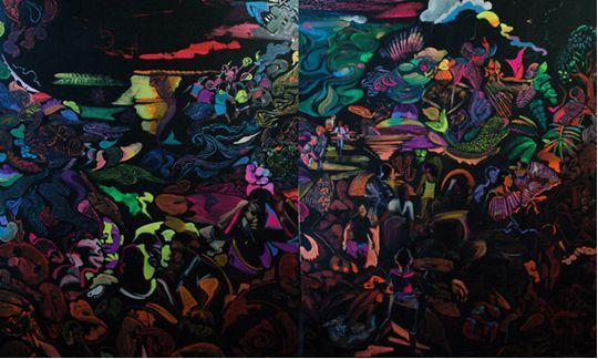 Otto Placht výstava v pražské Špálově galerii