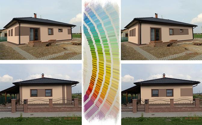 Jakou zvolit barvu fasády