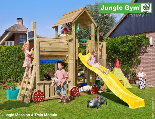Jungle Gym - mašinka