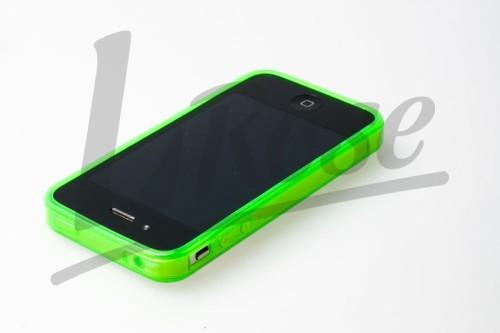 iphone, zelený obal