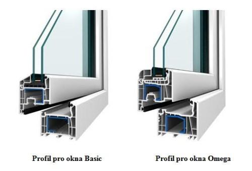 plastová okna, profily1