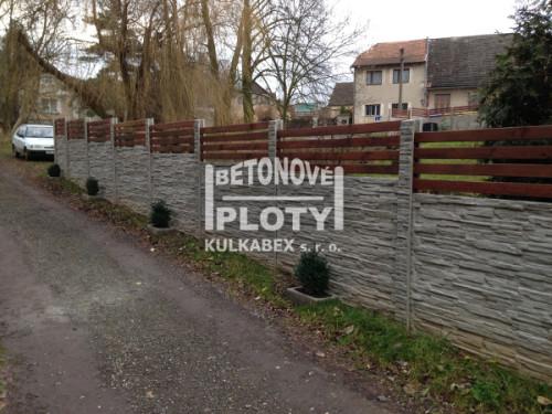 Betonové ploty
