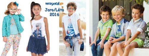 Dětské oblečení Mayoral